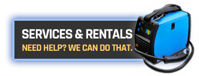 welding equipment rental and repair