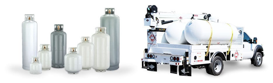 propane cylinder supply and propane delivery cleveland area