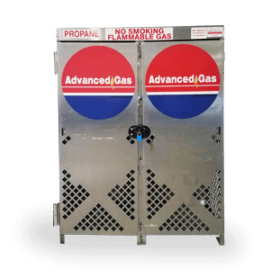 propane cabinet